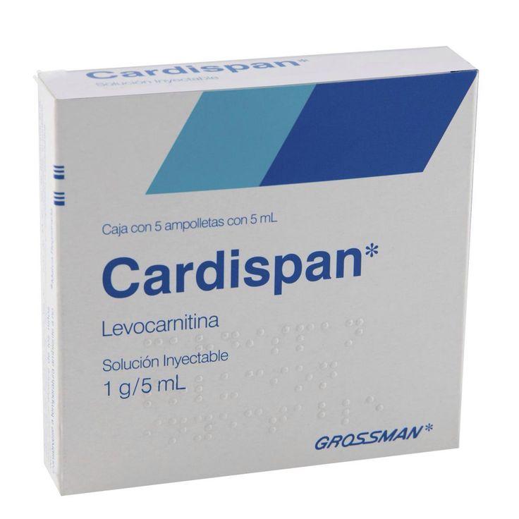 Cardispan es un medicamento inyectable principalmente usado para adelgazar áreas específicas del cuerpo y para acondicionamiento físico, además, se usa como tratamiento para combatir la deficiencia de levocarnitina, entre otras razones por las que el