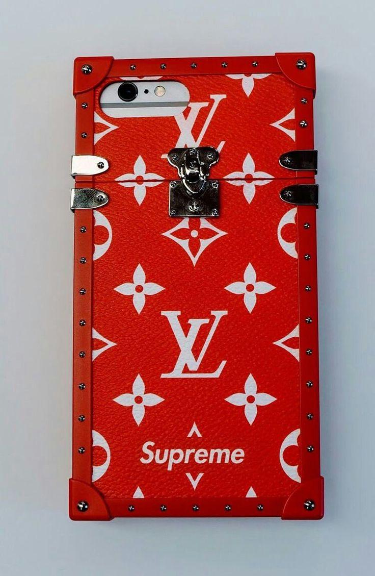 Case supreme louis vuitton phone case louis vuitton