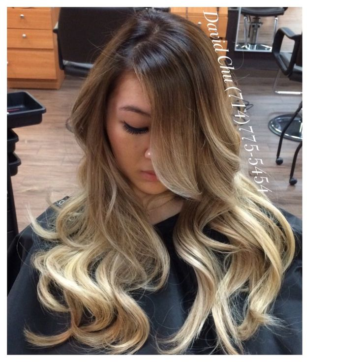 1000 ideas about blonde asian on pinterest asian hair - Balayage blond blanc ...