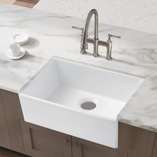 24 L X 16 W Farmhouse Kitchen Sink Farmhouse Sink Kitchen Farmhouse Apron Kitchen Sinks Kitchen Sink