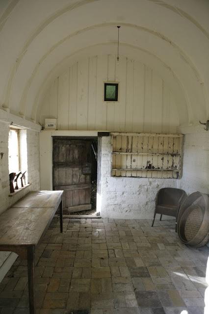 barrel vaulted interior