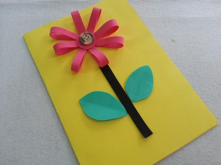 Children S Thinking Of You Craft Cards