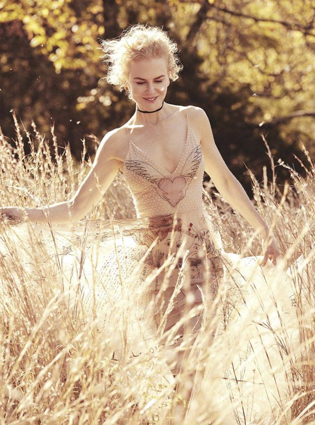 Nicole Kidman by Will Davidson for Vogue Australia January 2017 - Dior Spring 2017