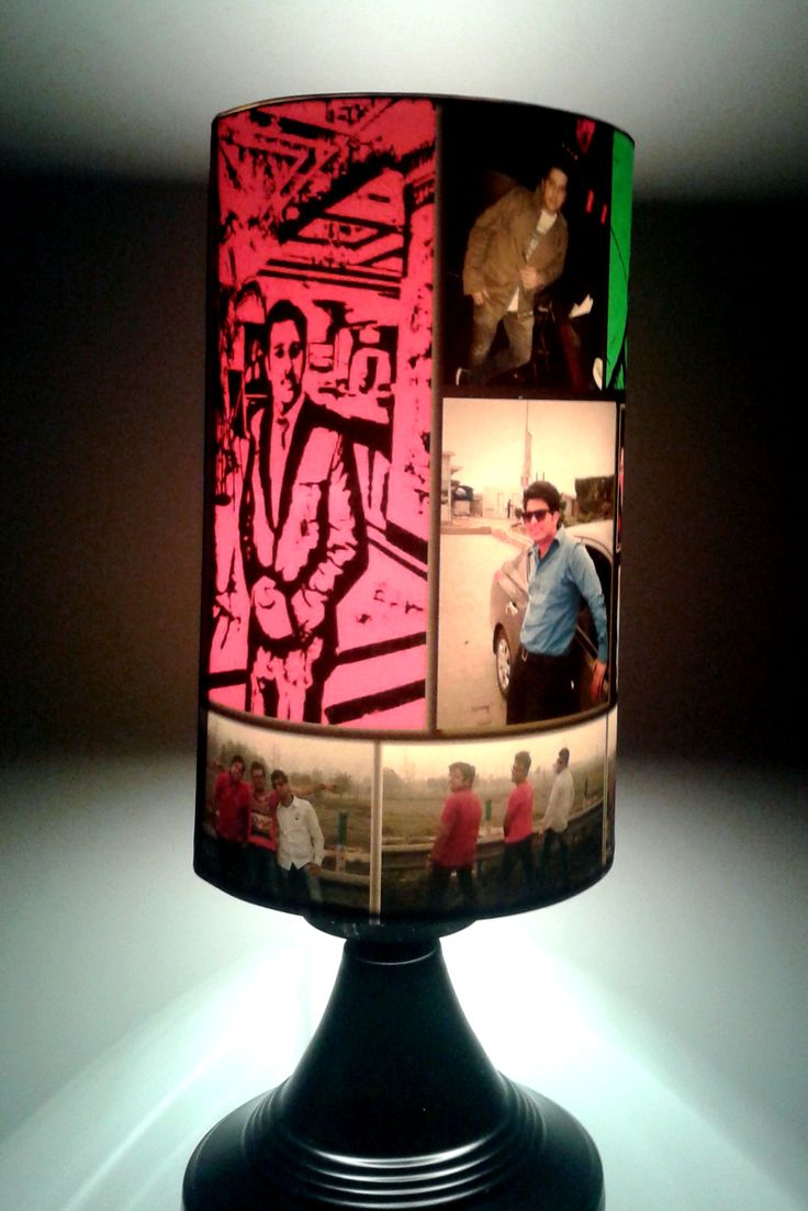 Customized Photo Lamp (Table) for your loved ones.