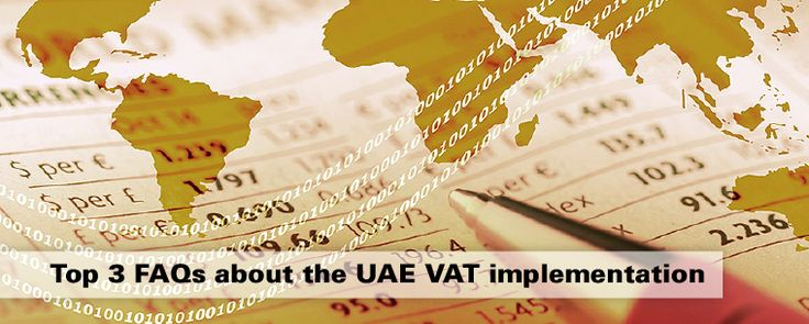 FAQs about implementation of the 5% value added tax (VAT) in the UAE