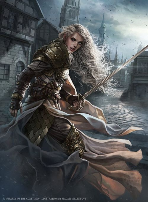 "thalia-the-thane: "" Thalia, Heretic Cathar - Magali Villeneuve✨ """