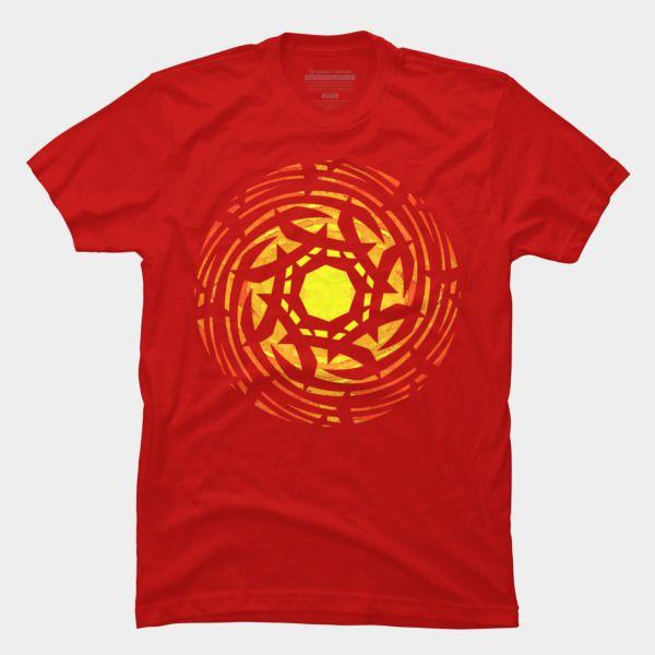 Samurai Sun T Shirt By Fringeman / Design By Humans