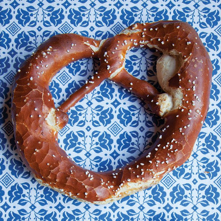 Laugenbrezel (Traditional German Pretzels)- find great German recipes on www.mybestgermanrecipes.com
