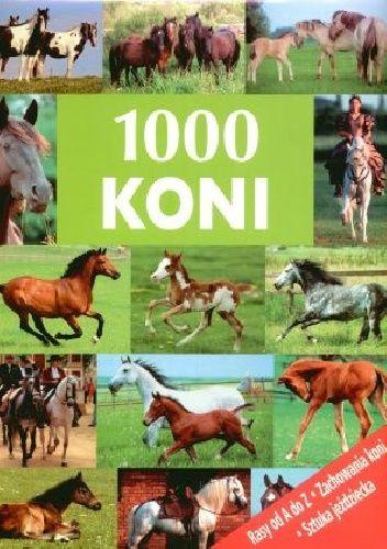 Okładka książki 1000 koni