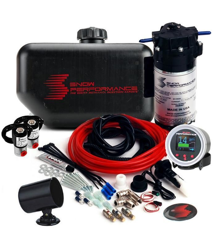 Snow Performance MPG-MAX Boost Cooler VW TDi Water/ Methanol Injection Kit