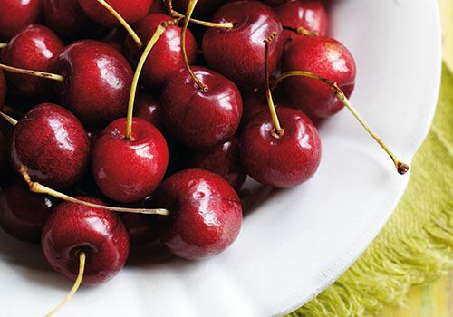 English cherries and how to cook them   http://www.bbcgoodfood.com/howto/guide/cherry-picking