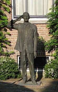 Pim Fortuin monument for his house in Rotterdam