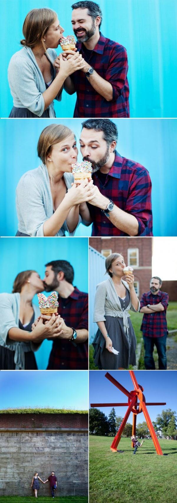 Cute engagement shootEngagement Pictures, Cream Engagement, Cream Pictures, Engagement Photography, Engagement Shoots, Engagement Couples, Couples Shoots, Kristina Hills, Ice Cream Cones