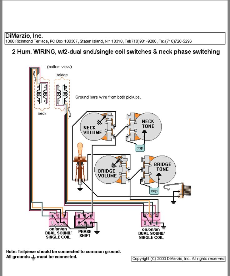 Wiring Drawings Bas 3 Controls 1 Pickup Pict Bass Guitar Guitar Wiring