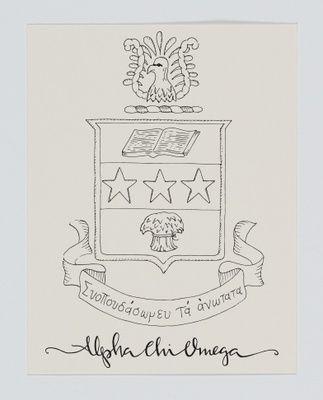 Alpha Chi Omega Crest