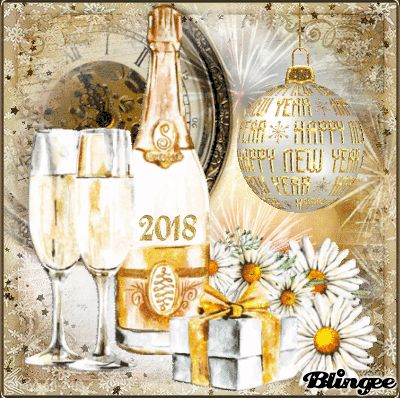 Happy New Year To All My Friends On Blingee!! xx