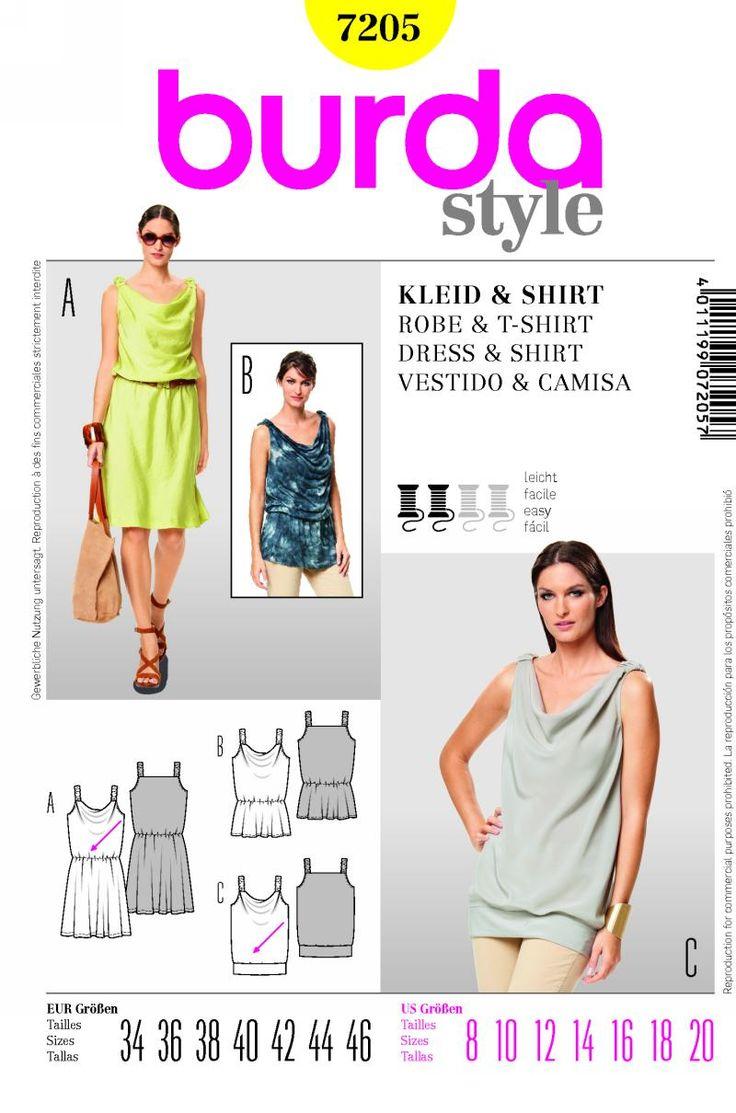 57 best ~Burda Style Pattern Wishlist images on Pinterest | Nähideen ...