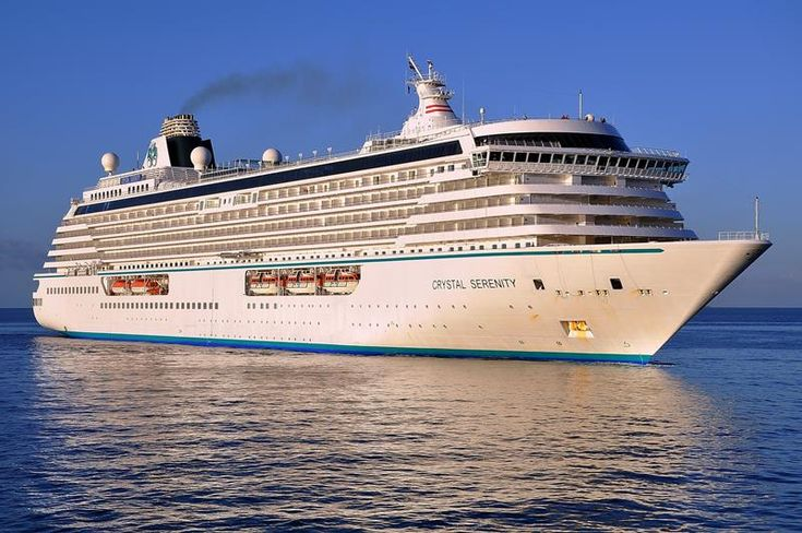 21 Stunning Pictures of the Ultra Luxury Crystal Serenity Cruise Ship: http://www.placesyoullsee.com/21-stunning-pictures-of-the-ultra-luxury-crystal-serenity-cruise-ship/