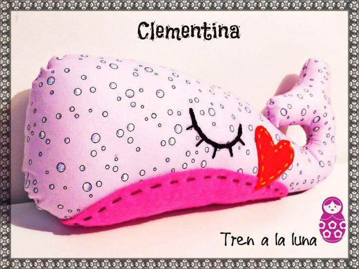 Clementina una ballena muy bella <3