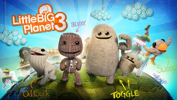 I love Little Big Planet 3. Little Big Planet 3 looks like a big upgrade from Little Big Planet 2. This game has amazing graphics and great score.