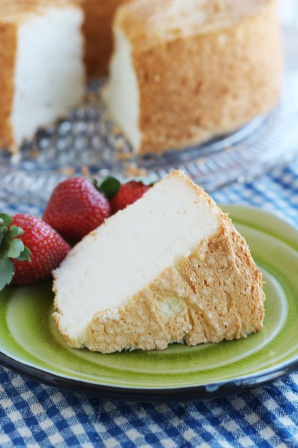 Weight Watchers Angel Food Cake With Strawberries