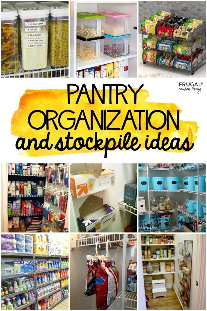 Accruing a large stock of goods or materials can leave you in a mess. The best Stockpile Organization & Kitchen Pantry S…