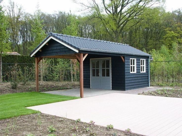 Gartenhaus Mit Markise Gartenhaus Markise Carport Sheds Pool Shed Backyard Sheds