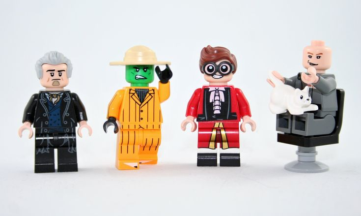 Count Olaf, The Mask, Austin Powers, Dr. Evil