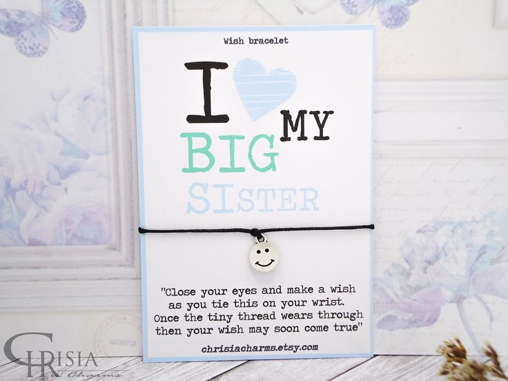 http://etsy.me/2Eilkho: Sister Wish Bracelet, Wish Bracelet, Sister Bracelet, Charm Bracelet, Friendship Bracelet, Sisters Gift, Gift for Sister, String Bracelet  #chrisiacharms #etsy #bracelets #wishbracelets #sisterbracelet #lovemysister #giftforsister #charmbracelet