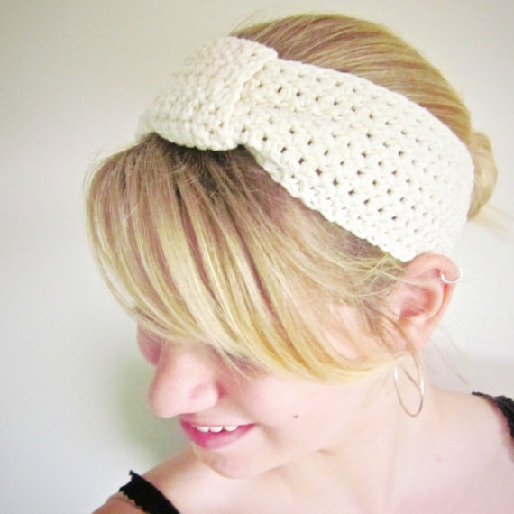 Soft and light cotton turban style headwrap!