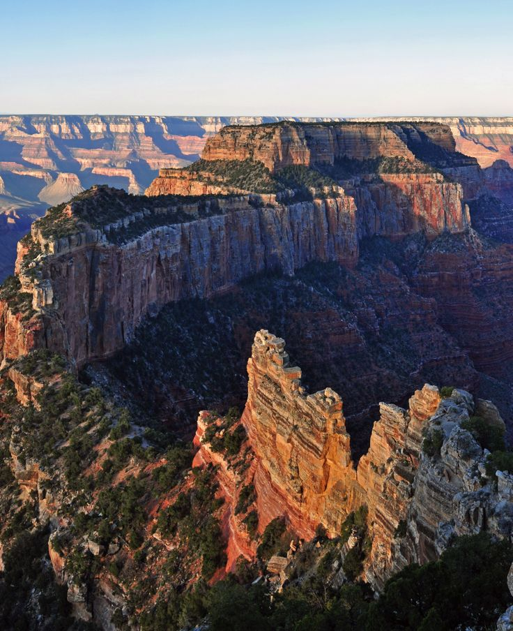 The Cape Royal Trail is a breathtaking hiking trail on the North Rim of the Grand Canyon National Park.