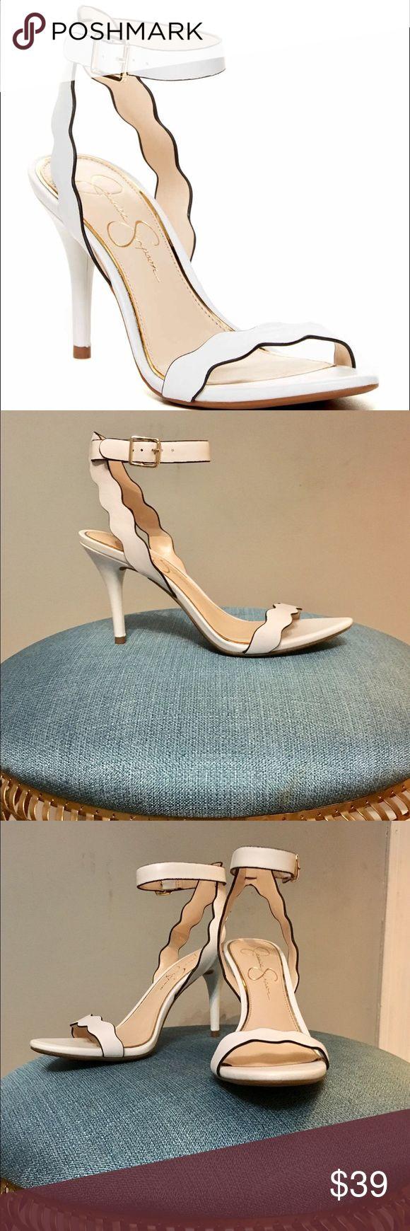 NEW Jessica Simpson white sandals NEW; NEVER WORN Jessica Simpson Shoes Sandals