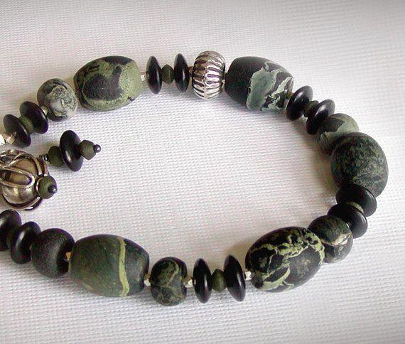 ۞ Stone AgeEtsy Bracelets, Beautiful Jewelry, Age Jasper, Jewelry Bracelets, 55 00, Stones Age, Jewelry Ideas, Jasper Bracelets, Jade Horns