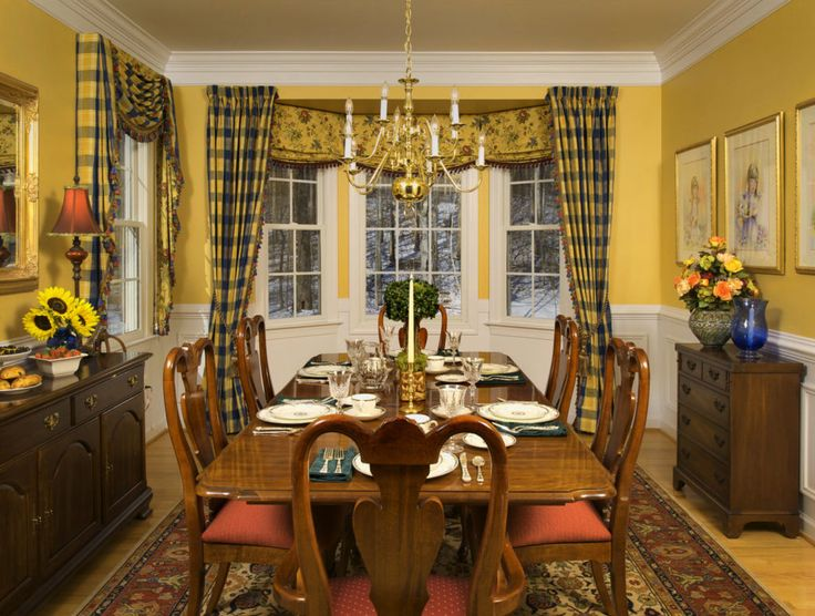 Amazing Dining Room Curtain Ideas Best Picture Of Curtains