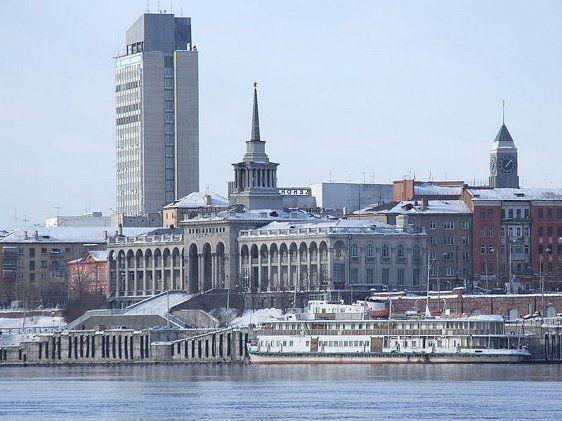 Krasnoyarsk Riverport