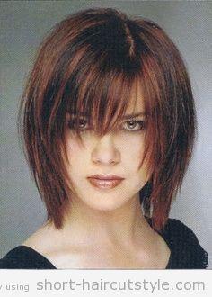 Image result for mature woman round face grow out fringe