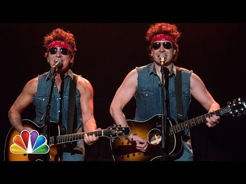 "Bruce Springsteen  Jimmy Fallon Take On Chris Christie's Bridgegate With ""Born To Run"" Spoof"