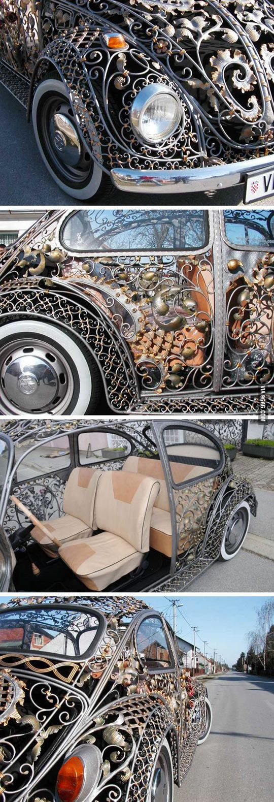 cool-bug-car-metalwork-body.jpg (540×1579)