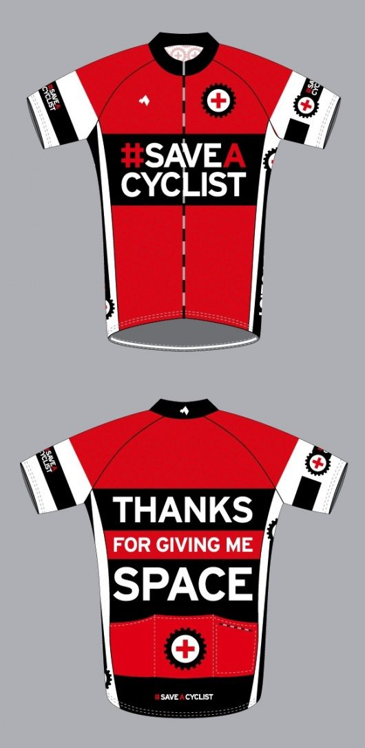 #SaveACyclist  I should order this... plan on doing a lot of road biking this spring!