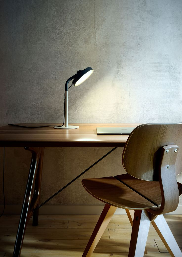 Lampa biurkowa aro m 3547 estiluz light buildinghead lightblack metalbrightlighting designfloorfrankfurttable