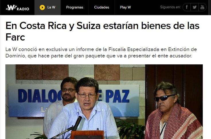 Farc sí tendrían bienes en Costa Rica, insiste informe