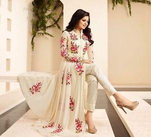 Anarkali Salwar kameez Suit Indian wear Pakistani Designer Bollywood dress DL631   eBay