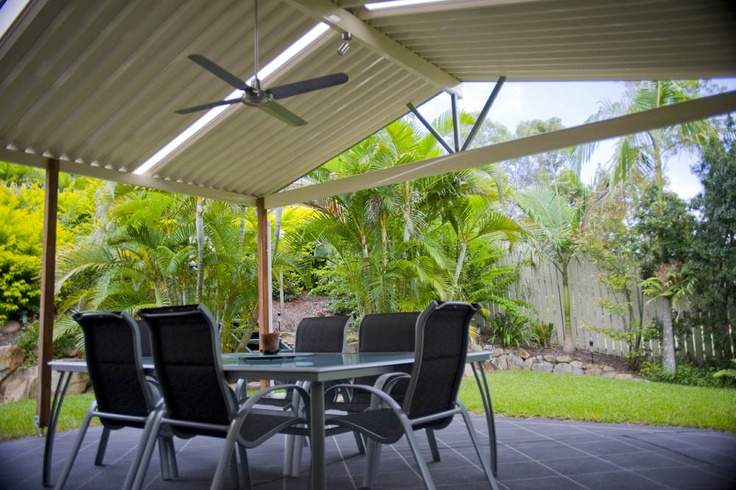 Open up your outdoor area with a spacious Gabled Pergola #patiodesign