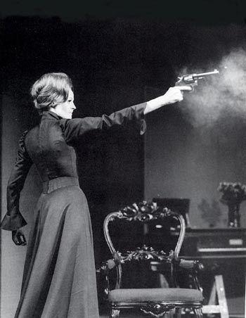 HEDDA GABLER  Maggie Smith as Hedda 1970 National Theatre/Cambridge Theatre.