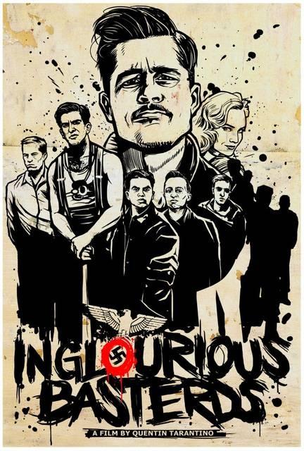 Inglourious Basterds - nunca vou me cansar de ver esse filme.