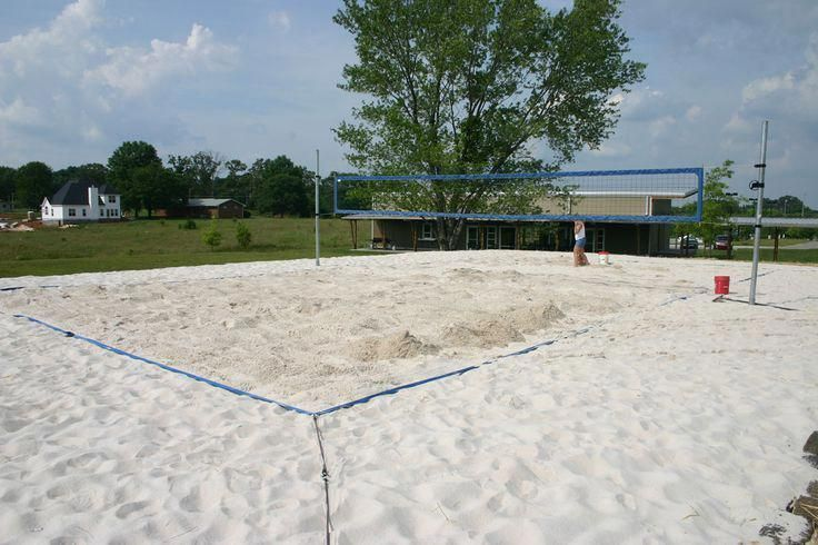 Learn How To Build A Sand Court For Beach Volleyball Howtoplaytennis Learningtoplaytennis Beach Volleyball Court Beach Volleyball How To Play Tennis