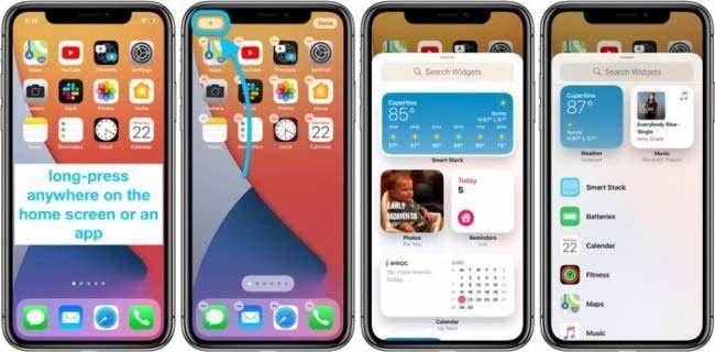 Hasil Contekan Widget Milik Ios 14 Lebih Baik Daripada Android Di 2020 Iphone Fitness Tracker Sistem Operasi