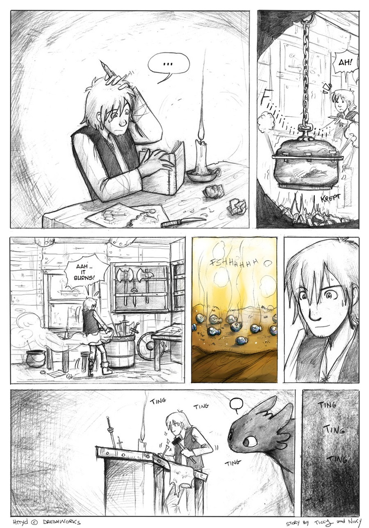 The Armband pag 1 by ticcy on DeviantArt | Hiccstrid ...