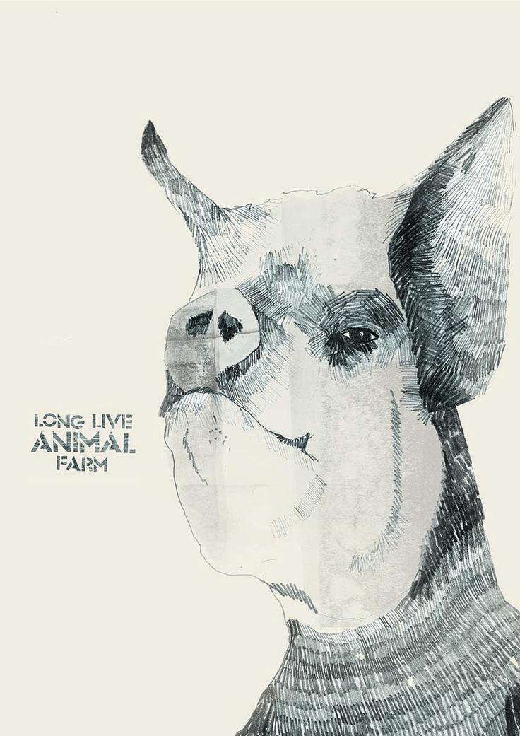 Animal Farm - Napoleon - Final Image