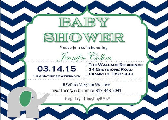 39 best baby shower invitations images on pinterest | baby shower, Baby shower invitations